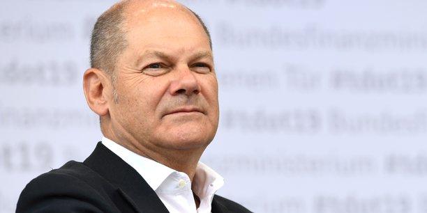 Le ministre allemand des Finances, Olaf Scholz, membre du SPD, le Parti social-démocrate.