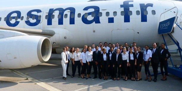 L'École Supérieure des Métiers de l'Aéronautique a formé plus de 160 pilotes en 2018