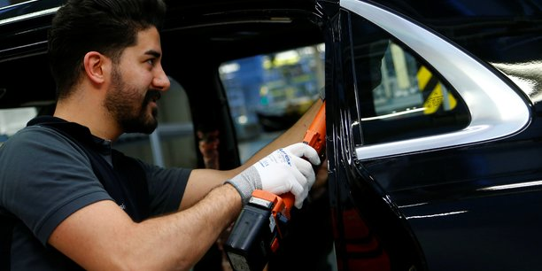 L'industrie automobile a particulièrement été touchée en Allemagne ces derniers mois.