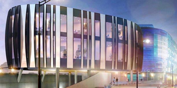 L'immeuble Le Galet, adossé au Centre del Mon à Perpignan, abritera l'un des deux espaces de coworking qu'implantera Bureaux & Co d'ici le 1er trimestre 2020 dans la capitale catalane.