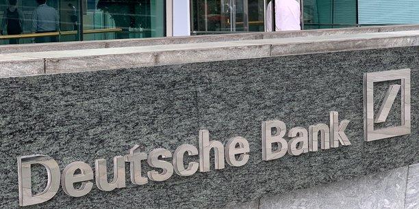 Deutsche bank scelle un accord avec la sec[reuters.com]