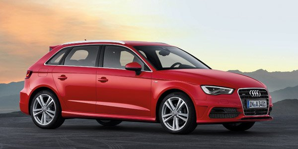 audi a3 sportback cette golf haut de gamme m rite t elle son surco t. Black Bedroom Furniture Sets. Home Design Ideas