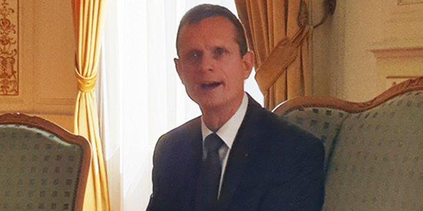 Jacques Witkowski, en poste depuis quelques heures, présente sa feuille de route, le 26 août 2019