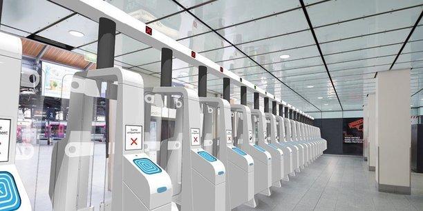 Saint-Lazare accueille quotidiennement 1.600 trains et 450.000 voyageurs, dont 380.000 clients Transilien.