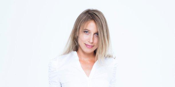 Julie de Pimodan, cofondatrice de la startup Fluicity.