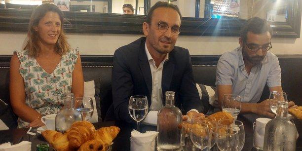 Edwige Fondevila, Thomas Cazenave, Aziz Skalli