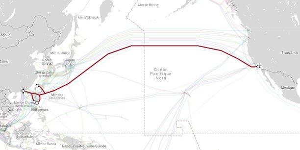 Le projet de câble Pacific Light Cable Network (PLCN) coûte environ 300 millions de dollars, et fait près de 13.000 kilomètres de long.