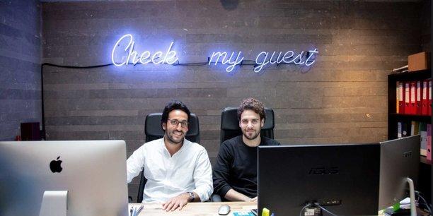 Kevin Cohen et Joffrey Ichbia, co-fondateurs de Checkmyguest.