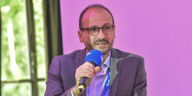 Georges Rawadi, directeur général de la société bordelaise LNC Therapeutics, lors du Forum Santé Innovation 2019 organisé par La Tribune