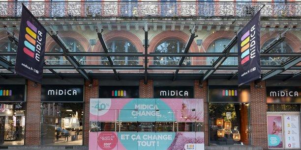 Midica aura bientôt son restaurant au dernier étage du magasin.