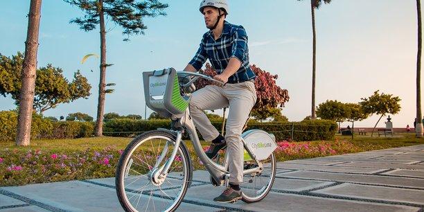 L'un des 500 vélos déployés par Smoove à Lima, le 1er marché remporté par la PME en Amérique du Sud
