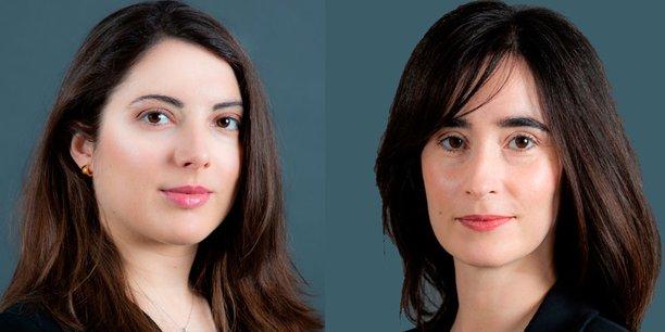 De g à d, Agnès Druot et Sarah Fleury, avocates au cabinet Goodwin