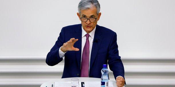 Le président de la Fed, Jerome Powell.