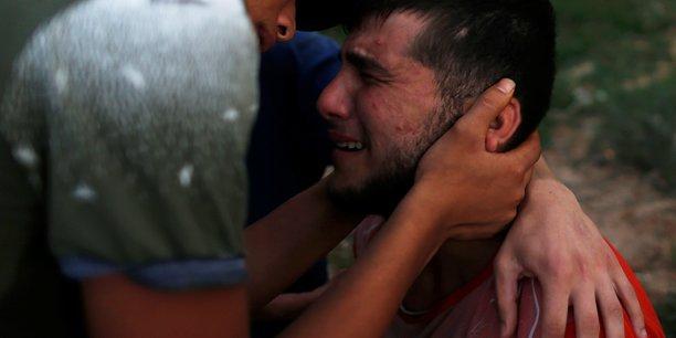 Deux adolescents palestiniens tues par l'armee israelienne pres de gaza[reuters.com]