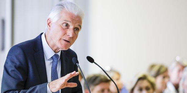 Le président de la Métropole, Patrick Bobet, s'est exprimé sur l'hypothèse d'un métro à Bordeaux lors de son point presse de rentrée le 9 septembre 2019
