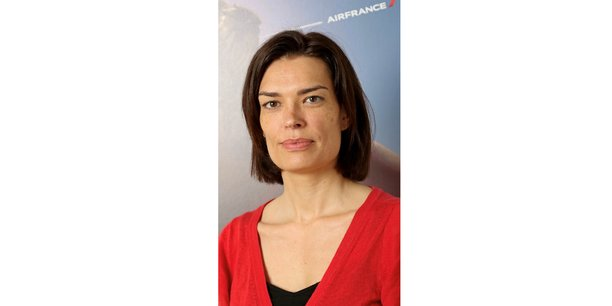 Jennifer Mazet, directrice des ventes de Air France KLM en Nouvelle-Aquitaine