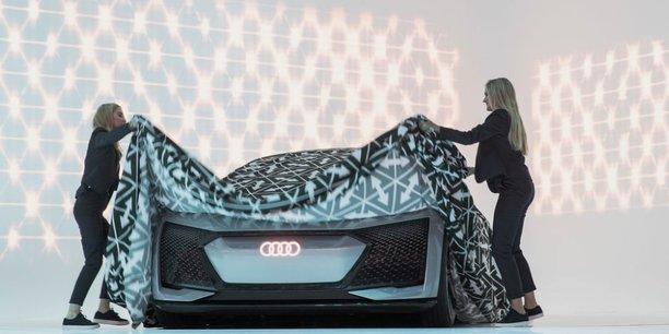 La présentation du concept car Audi lors du dernier salon de Francfort.