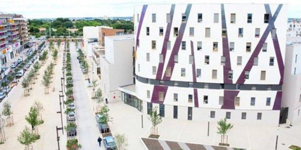 La résidence étudiante Côté Rambla, dans le quartier des Grisettes, à Montpellier.