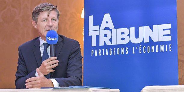Nicolas Florian, le maire de Bordeaux, invité du Petit Déjeuner de La Tribune, jeudi 12 septembre 2019.