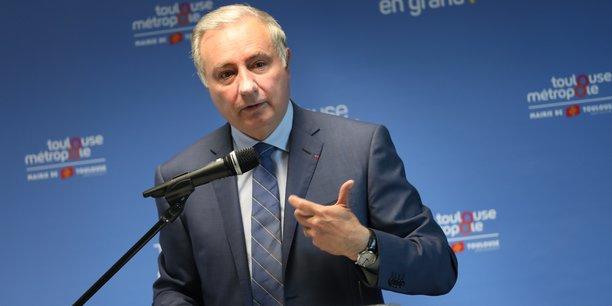 Le maire de Toulouse a fait le bilan de l'année 2019, avant des élections municipales.