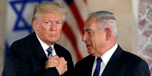 Trump evoque un possible traite de defense mutuelle avec israel[reuters.com]