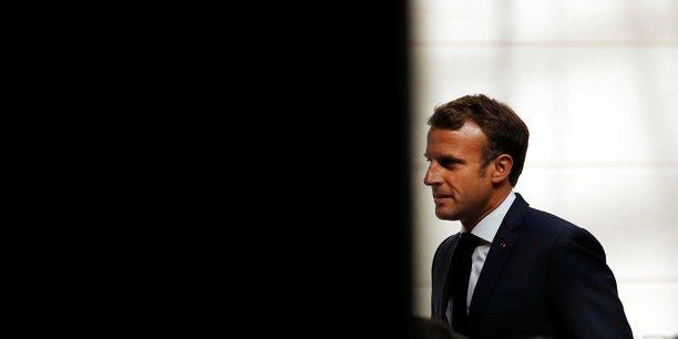 Macron pressenti a la reunion de rentree des parlementaires larem[reuters.com]