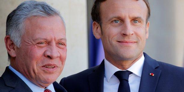 Macron et abdallah ii inquiets des visees territoriales de netanyahu[reuters.com]