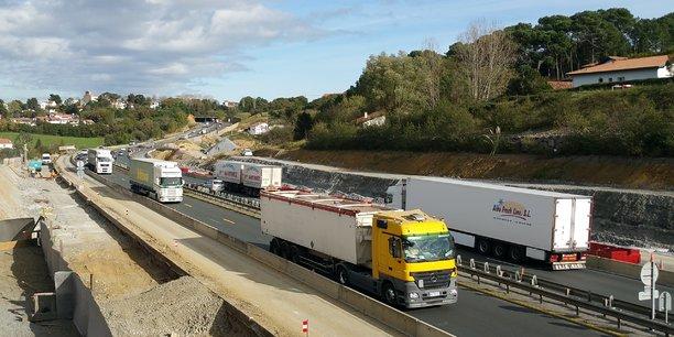 Le transport est l'un des secteurs où le repli de l'intérim est le plus marqué en Nouvelle-Aquitaine.
