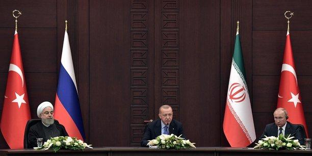 Turquie, iran et russie promettent d'essayer de ramener le calme en syrie[reuters.com]