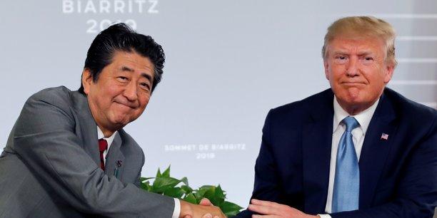 Trump affirme que washington a trouve des accords commerciaux avec tokyo[reuters.com]