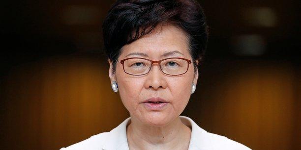 Hong kong: carrie lam veut apaiser les tensions grace au dialogue[reuters.com]