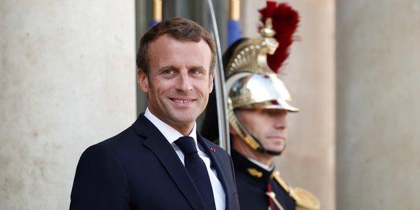 Macron en renfort des pépites de la French Tech