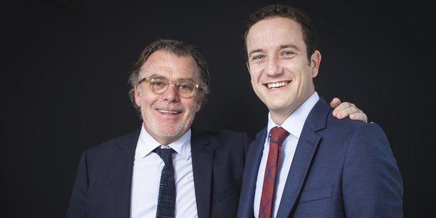 François Legeleux, le dirigeant de France Transactions et Alexandre Humbert, veulent ensemble devenir des acteurs incontournables dans la région en matière d'immobilier.