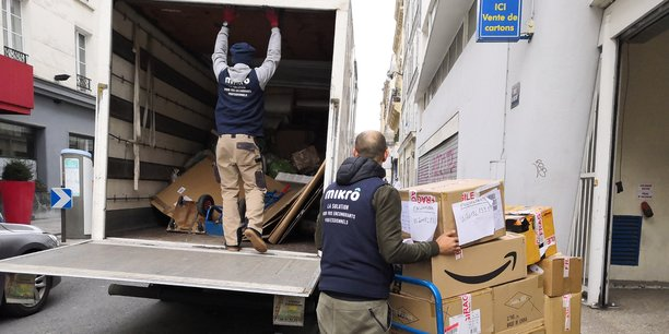 Mikrô, service de collecte en porte-à-porte des encombrants professionnels, arrive à Toulouse