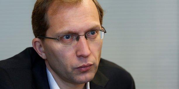 Henri Poupart-Lafarge, président d'Alstom.
