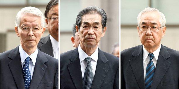 Catastrophe de fukushima: trois anciens dirigeants de tepco acquittes[reuters.com]