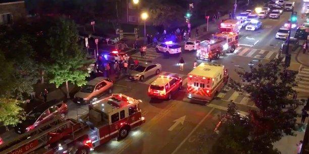 Usa: fusillade a washington, un mort et cinq blesses, selon la police[reuters.com]