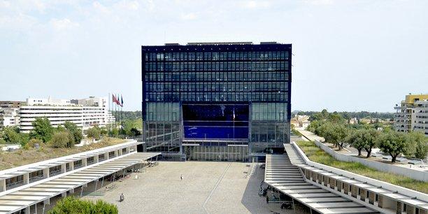 L'hôtel de ville de Montpellier.