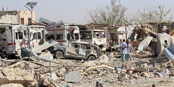 Afghanistan: le bilan de l'attentat pres d'un hopital porte a 39 morts[reuters.com]