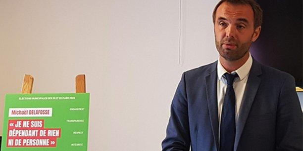 Michaël Delafosse (PS) joue la transparence à fond dans le cadre des municipales