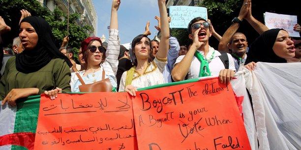 Manifestations en algerie malgre l'annonce d'une election[reuters.com]
