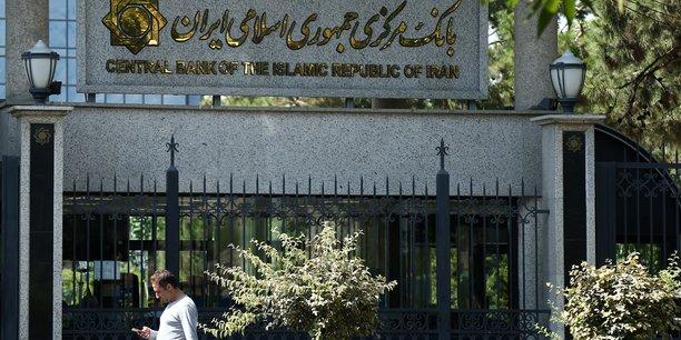 Les etats-unis sanctionnent la banque centrale d'iran[reuters.com]