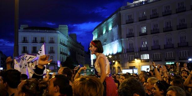 Espagne: rassemblement contre les violences conjugales a madrid[reuters.com]