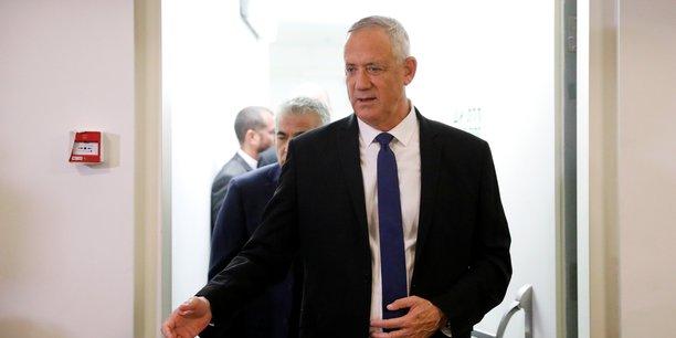 Les arabes israeliens appuient un gouvernement que dirigerait benny gantz[reuters.com]
