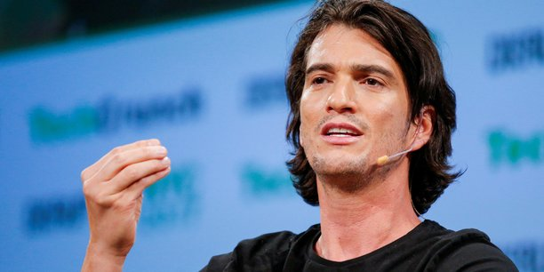 Adam Neumann, l'ancien patron controversé de WeWork.