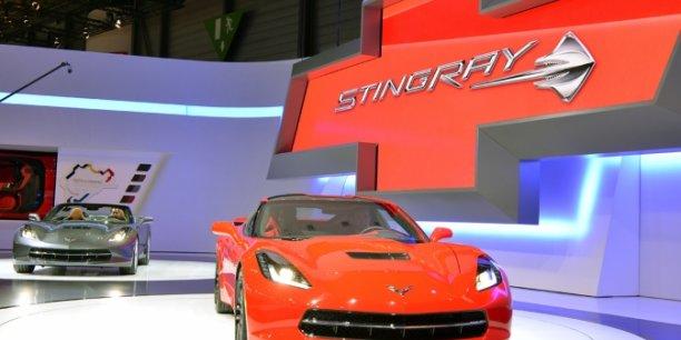 Cvevrolet Corvette Stingray. Copyright GM