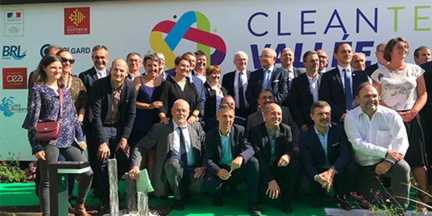 Jean-Bernard Lévy, P-dg d'EDF, était en déplacement à Aramon le 26 septembre 2019 pour inaugurer l'accélérateur Cleantech Booster et la centrale photovoltaïque installés sur le site en reconversion de l'ancienne centrale thermique.