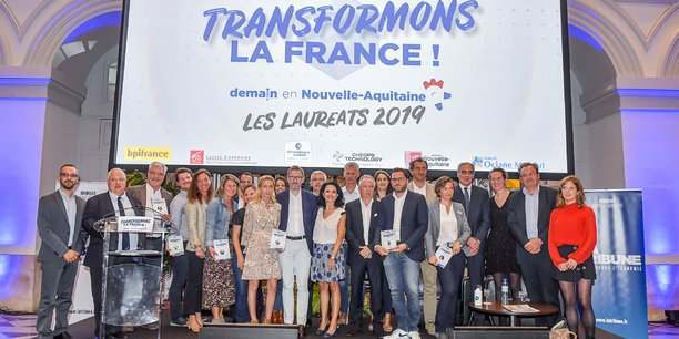 Sept lauréats ont été récompensés parmi les 30 transformatrices et transformateurs sélectionnés en Nouvelle-Aquitaine par La Tribune