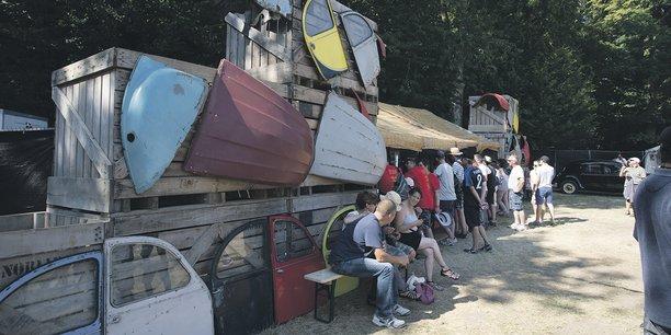 Rétro C Trop fait partie des manifestations aidées par le Crédit Mutuel.