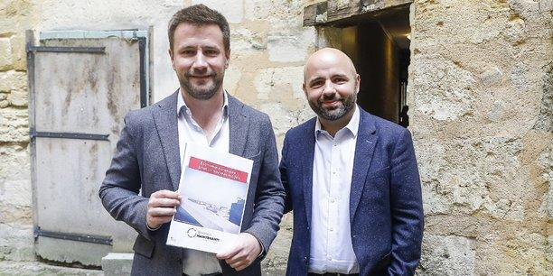 Cédric Montet, dirigeant d'API.video et un des principaux rédacteurs du Manifeste, et Matthieu Rouveyre, fondateur de Bordeaux Maintenant